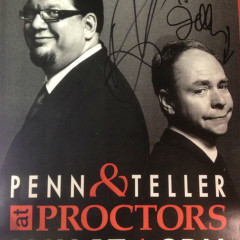 Penn & Teller magically appear