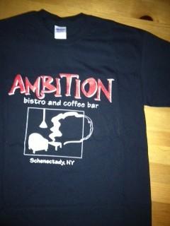 ambition tshirt front