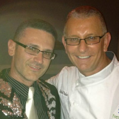 Robert Irvine of Restaurant Impossible stops by