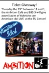 B95.5 American Idol tickets give-a-ways
