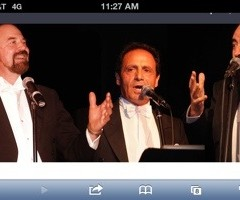 Three Tenors @ Proctors